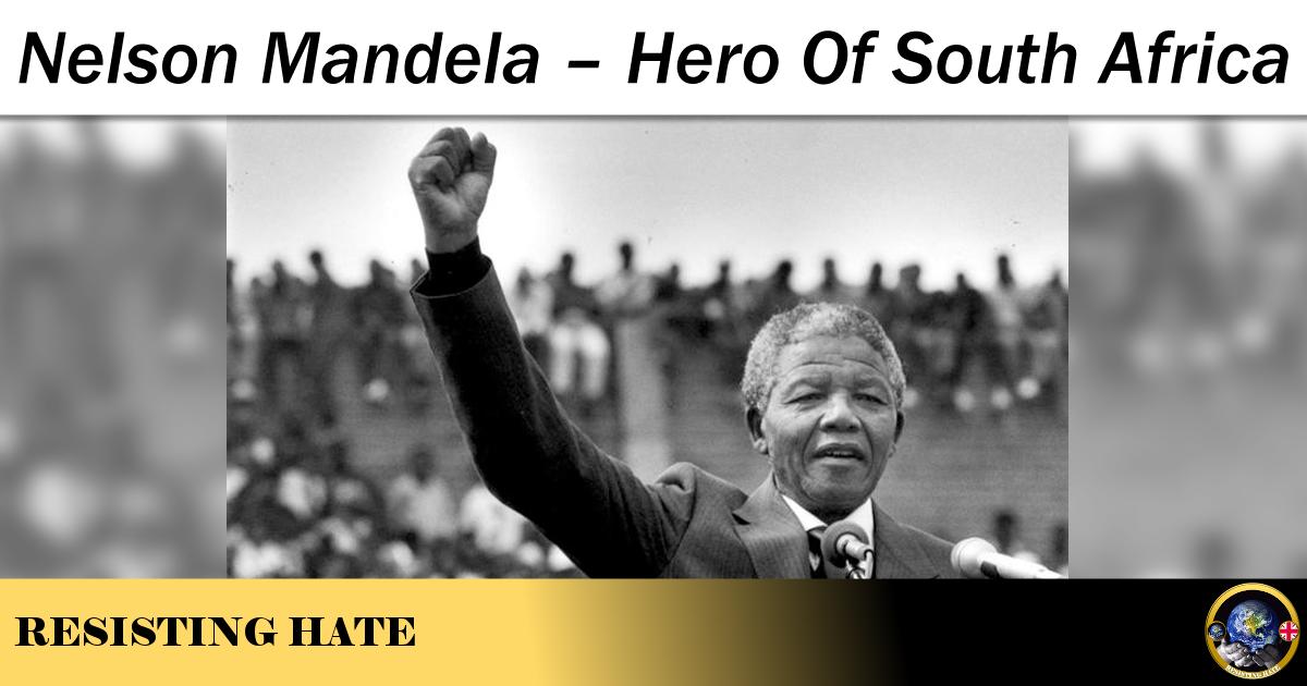 Nelson mandela a most admired hero
