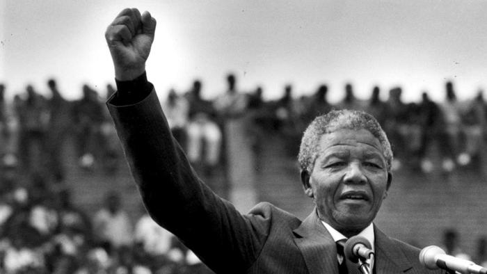 introductory speech on nelson mandela Mandelian rhetoric: an analysis of nelson mandela's  mandela's political  speeches in relation to the linguistic devices used in  introduction.