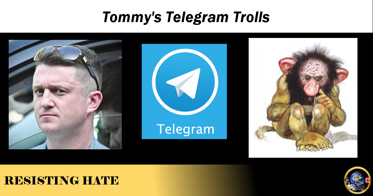 Tommy's Telegram Trolls – Resisting Hate